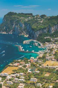 Capri island, Campania region, Italy