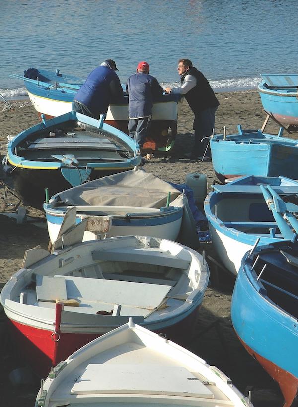Maiori, Salerno fishermen