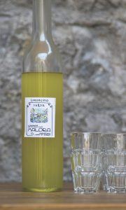 limoncello on Lake Garda, Italy