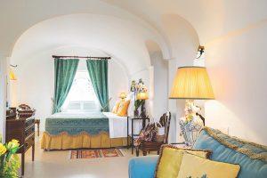 Simple comfortable hotel room, Puglia