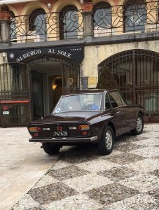 Lancia car, Italy