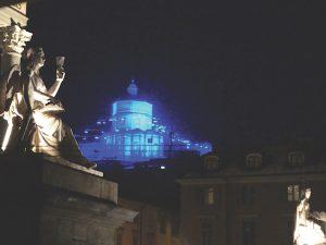Piccoli Spiriti Blu by Rebecca Horn, Monte dei Cappuccini, Turin