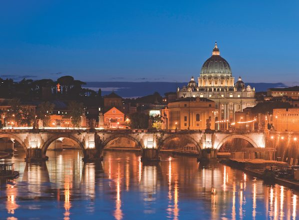 Rome by night, Italy
