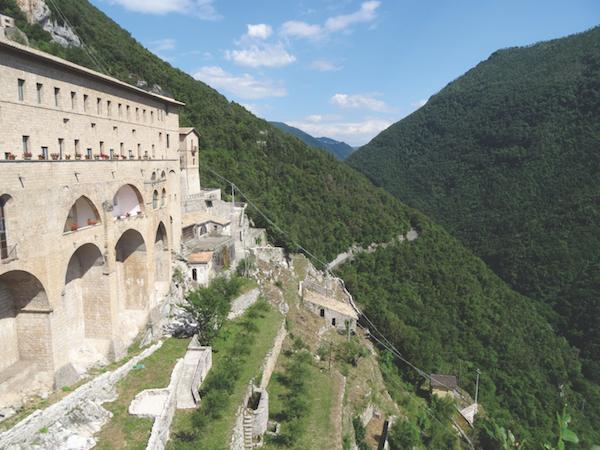 St Benedict's monastery, Italy