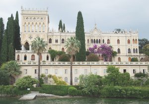 Venetian villa on Isola del Garda, Lake Garda
