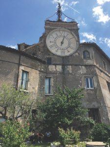 on Palazzo del Drago, Subiaco, Italy