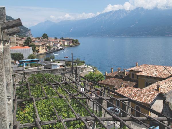 View from limonaia, Lake Garda