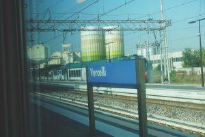 Vercelli station, Italy