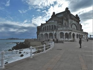 Promenade on the Black Sea Shore
