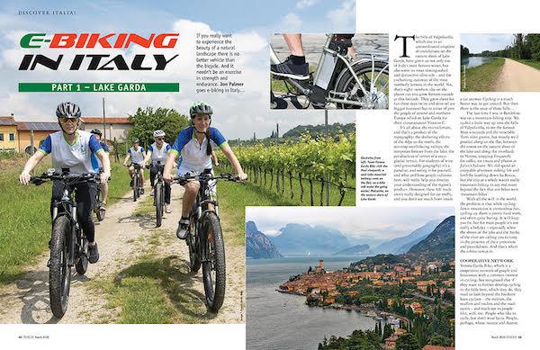 Italia! magazine Lake Garda bikes article