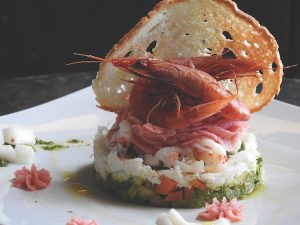 Seafood, Genoa