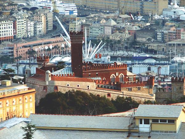 Castello d'Albertis-Montegalletto, Genoa