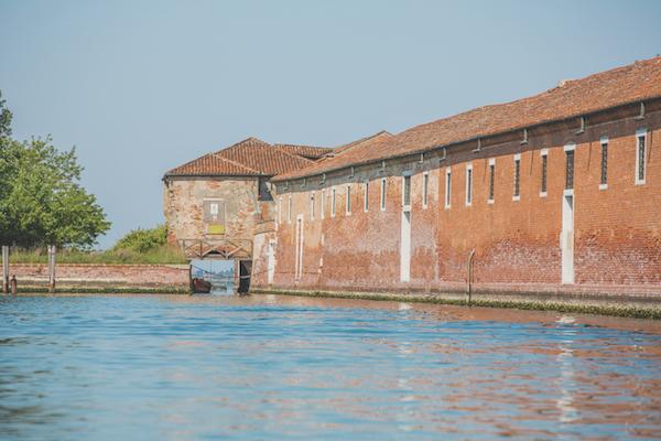 Docking bay of Lazaretto Vecchio, Venice