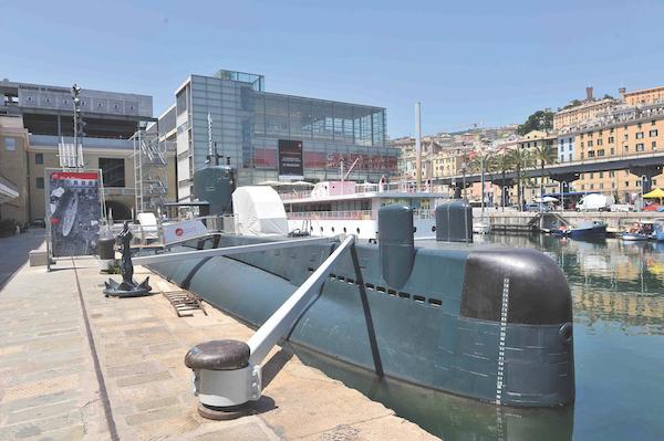 the Galata Museo del Mare, Genoa