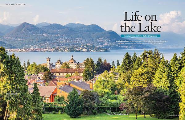 italia magazine lake maggiore feature