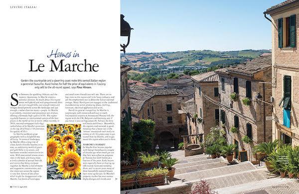italia magazine homes in le marche feature