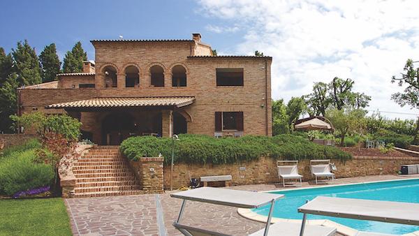Villa Orciano, Le Marche