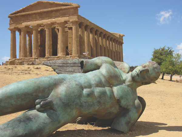 Sicily, Valley of the Temples near Agrigento