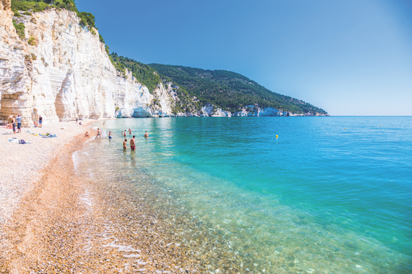 Vignanotica beach, Puglia