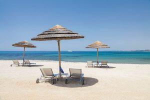 private beach at verdure resort