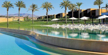 Swimming pool at the Verdura Resort