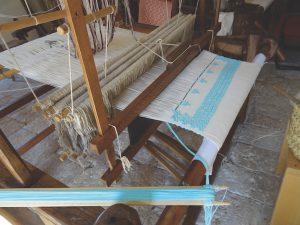 Affiocco weaving in Salve, Puglia