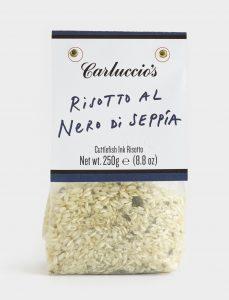 carluccio's squid ink risotto