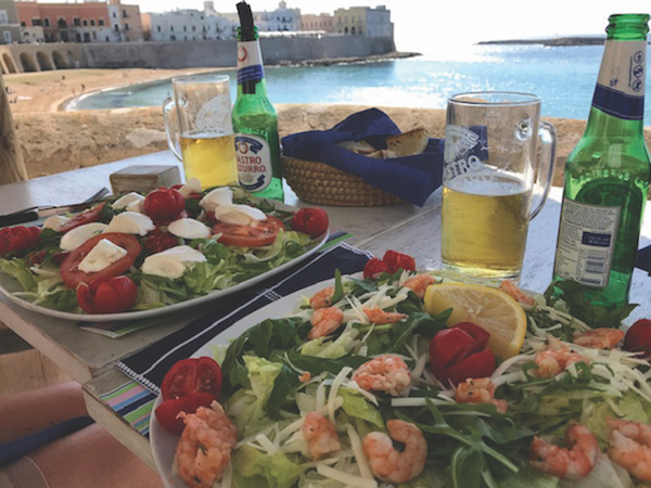 Lunch in Gallipoli, Italy
