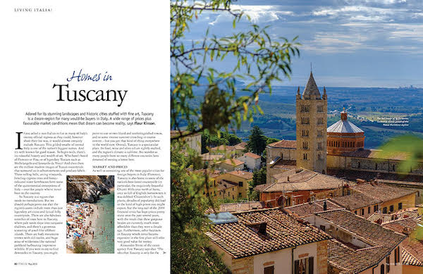 homes in tuscany feature issue 174