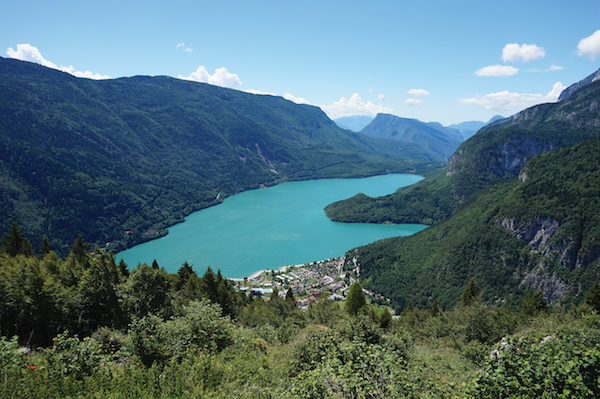 Lake Moveno, Italy