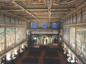 Palazzo Vecchio Salone dei Cinquecento, Florence