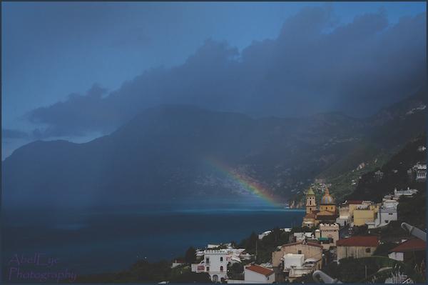 Praiano storm, Italy
