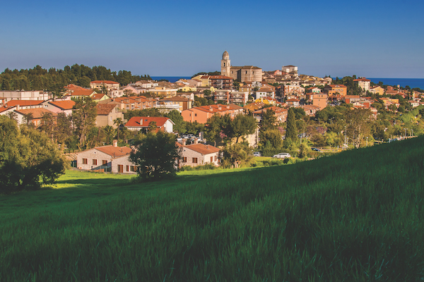Beautiful view of Sirolo, Le Marche