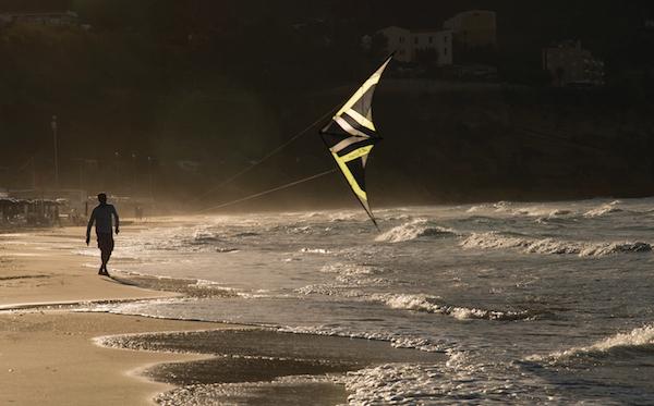 Castellammare del Golfo, kite