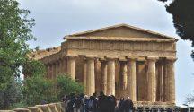 The Temple of Concordia, sicily