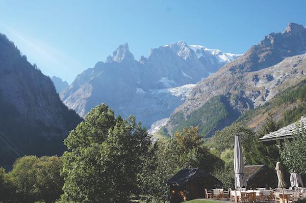 Auberge de la Maison, Mont Blanc, Italy