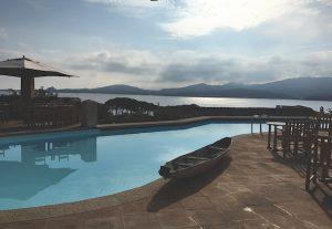 Relais Villa del Golfo pool, Sardinia