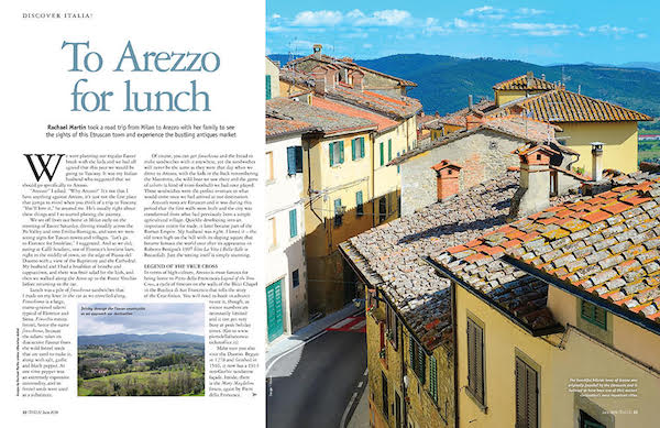 Italia! magazine issue 175 arezzo feature