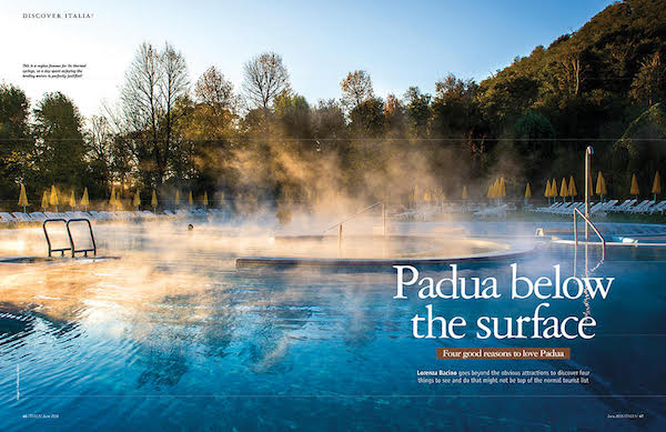 Italia! magazine issue 175 - padua feature