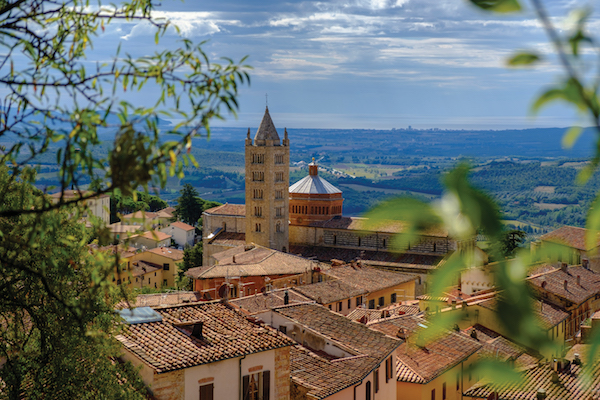 Italy, Tuscany, Massa Marittima Cathedral