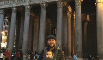 Pantheon, Rome with kids