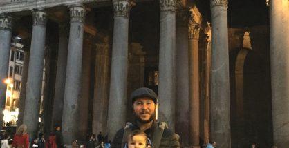 Pantheon, Rome with kids