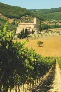 treno del vino, italy
