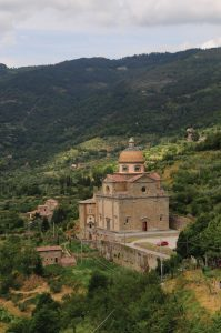 Santa Maria Nuova church in Cortona, Tuscany, Italy