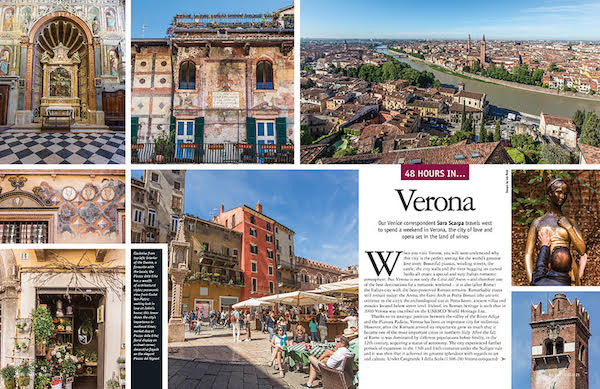 Italia! issue 176 Verona article