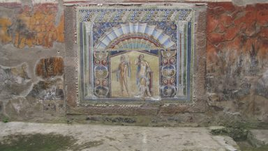 Mosaic of Neptune and Amphitrite in Herculaneum