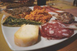 Tuscan antipasti