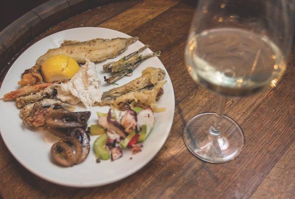 Antipasto di pesce - Antica Osteria Ruga Rialto