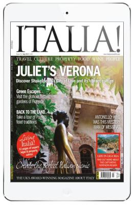 italia! app on iPad