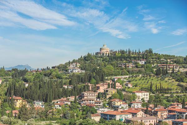 Panorama from Castel San Pietro